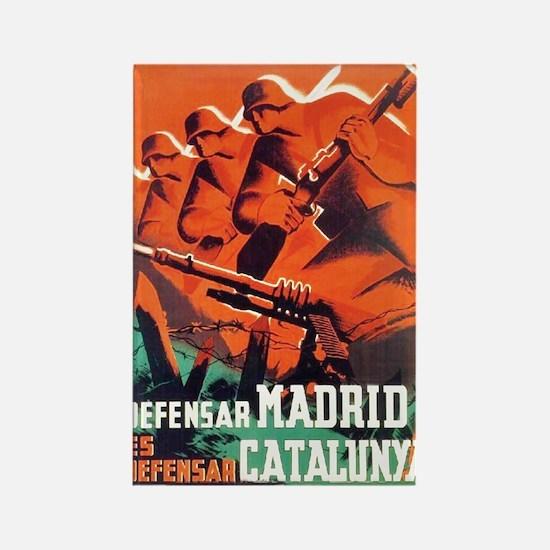 Defend Madrid! Rectangle Magnet