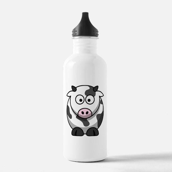 Cartoon Cow Water Bottle