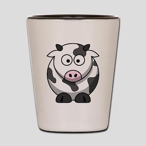 Cartoon Cow Shot Glass