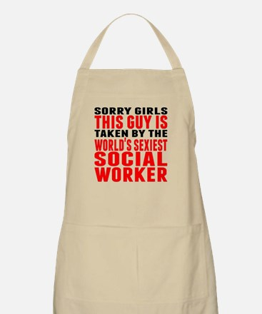 Taken By The Worlds Sexiest Social Worker Apron
