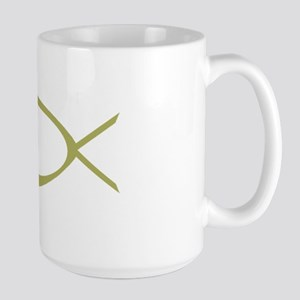 Christian fish, Large Mug