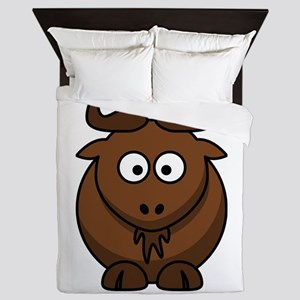 Cartoon Gnu Queen Duvet