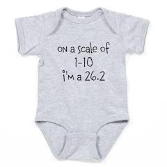 im a 26.2 Baby Bodysuit