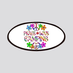 Peace Love Camping Patch