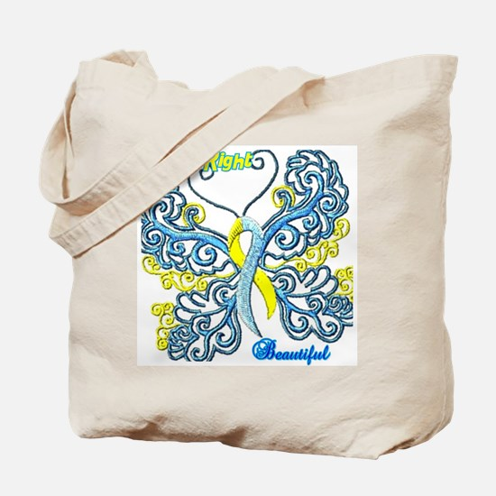 down right Tote Bag