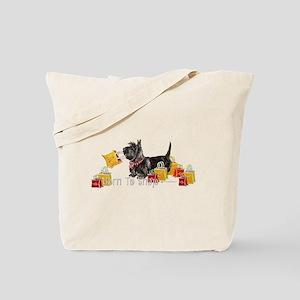 Scottie Shopping Tote Bag
