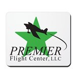 Premier Flight Center Logo Mousepad