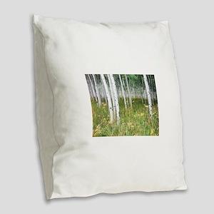 Welcoming Magic Burlap Throw Pillow
