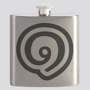 Thailand Number 1 / One (Nueng) Thai Script Flask