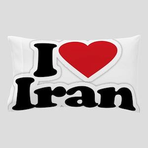 I love Iran Pillow Case