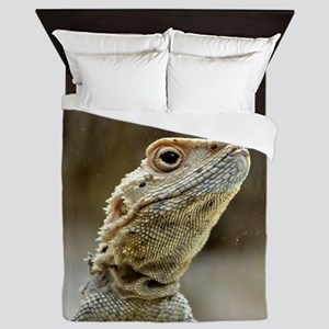 nosy Lizard Queen Duvet