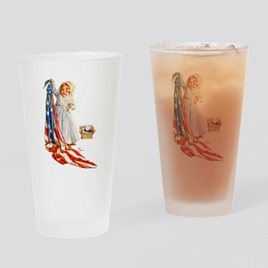 Maud Humphrey - Betsy Ross Sews the Drinking Glass