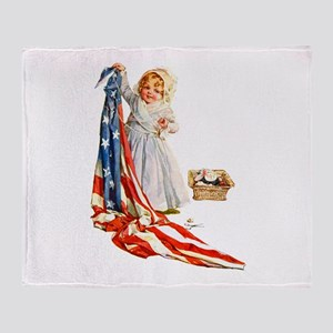 Maud Humphrey - Betsy Ross Sews the Throw Blanket