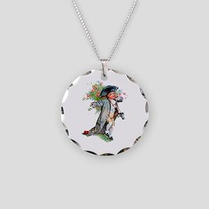 Maud Humphrey - Paul Revere Necklace Circle Charm