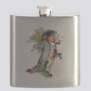 Maud Humphrey - Paul Revere and his Hobby H Flask