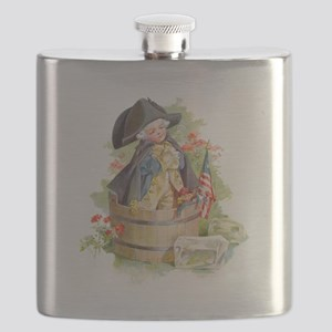 Maud Humphrey - Washington Crossing the Dela Flask