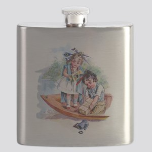Maud Humphrey - Boston Tea Party Flask