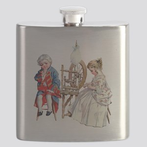 Maud Humphrey - George and Martha Washington Flask
