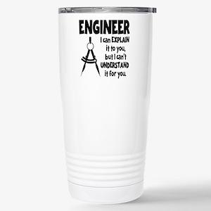 ENGINEER COMPASS Stainless Steel Travel Mug