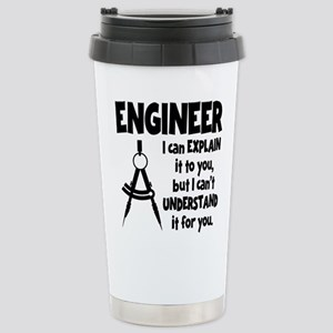 ENGINEER COMPASS Stainless Steel Travel Mug