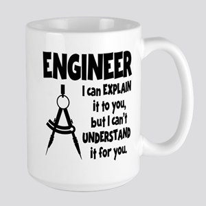 ENGINEER COMPASS Large Mug