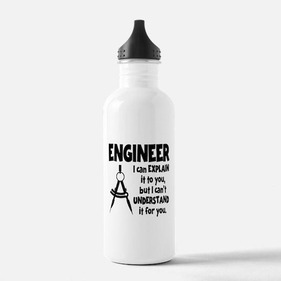 ENGINEER COMPASS Water Bottle