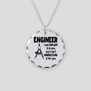 ENGINEER COMPASS Necklace Circle Charm