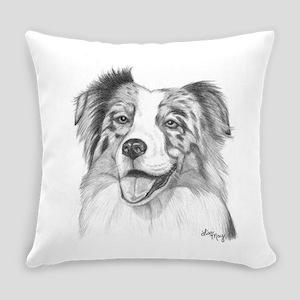 Australian Shepherd Everyday Pillow