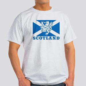 Flag of Scotland with Lion Light T-Shirt