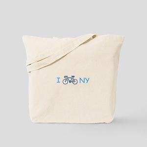 I Bike NY Tote Bag
