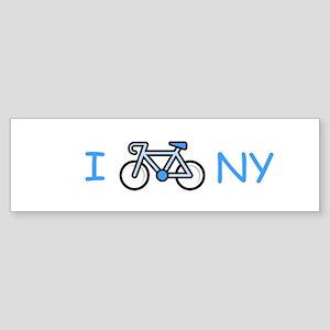 I Bike NY Bumper Sticker