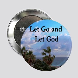 "LET GO AND LET GOD 2.25"" Button"