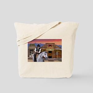 Wild West Gambler Tote Bag