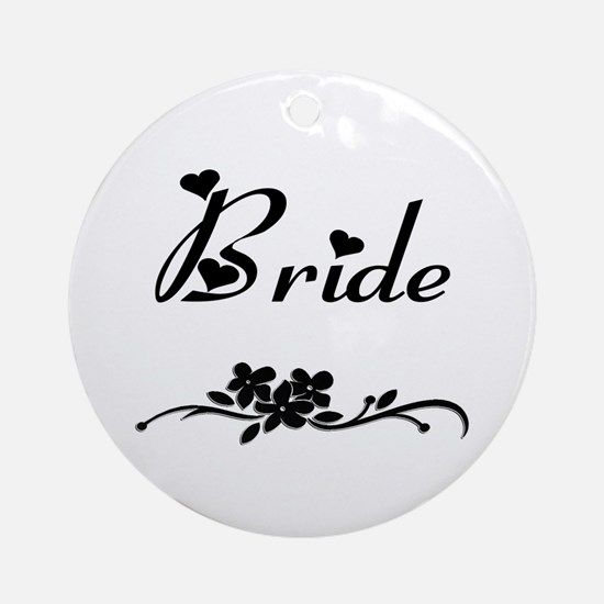 Classic Bride Ornament (Round)