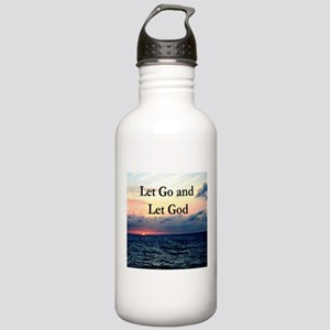 LET GO AND LET GOD Stainless Water Bottle 1.0L
