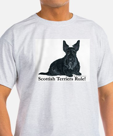 Scottish Terriers Rule! T-Shirt