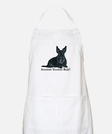Scottish Terriers Rule! BBQ Apron