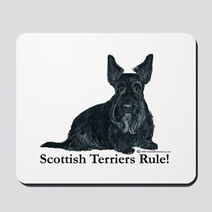 Scottish Terriers Rule! Mousepad
