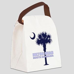 Hilton Head Canvas Lunch Bag