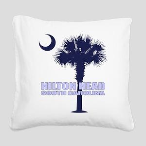 Hilton Head Square Canvas Pillow