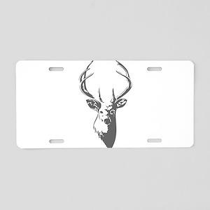 Deer Aluminum License Plate