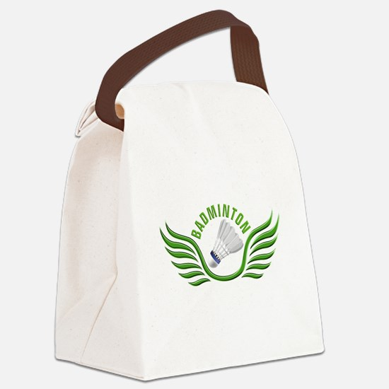 Rackets Canvas Lunch Bag