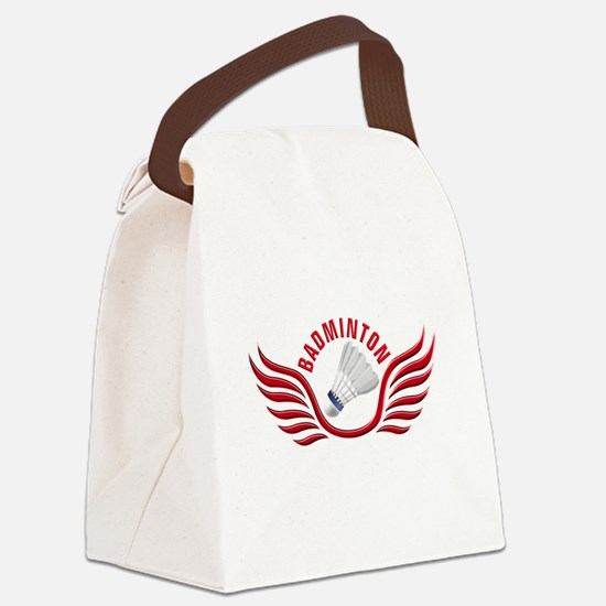 Cool Rackets Canvas Lunch Bag
