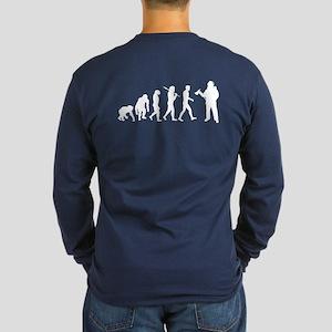 Fireman Evolution Long Sleeve Dark T-Shirt