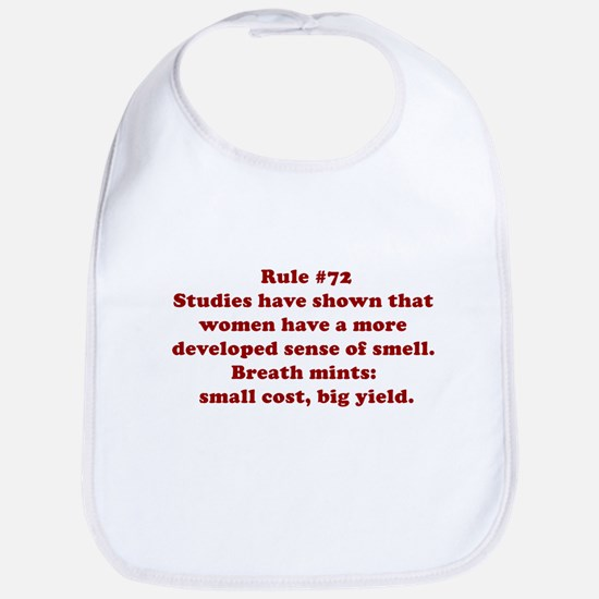 Rule #72 Bib