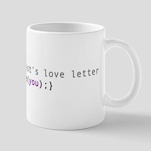 CS Love Letter Mug