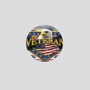 veteran Mini Button