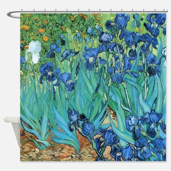 Blue Shower Curtains   CafePress
