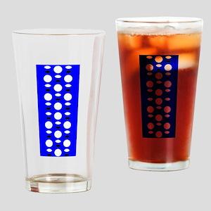 Cobalt Blue Perception Pathway Desi Drinking Glass