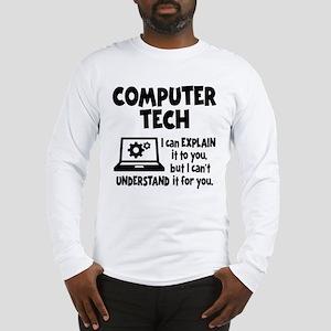 COMPUTER TECH Long Sleeve T-Shirt